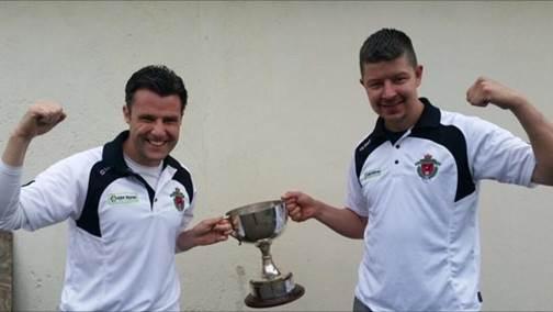 Stamullen FC Senior team trophy