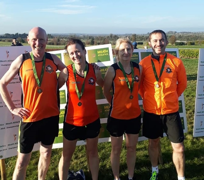 Cilles AC at Meath Relay