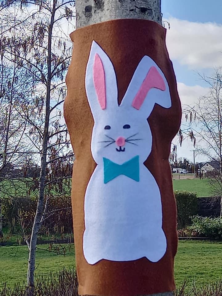 Julianstown easter bunny