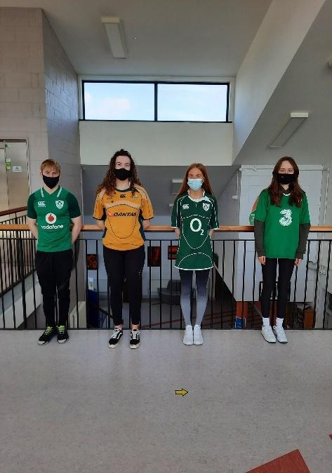 Drogheda Grammar Diversity Day shirts