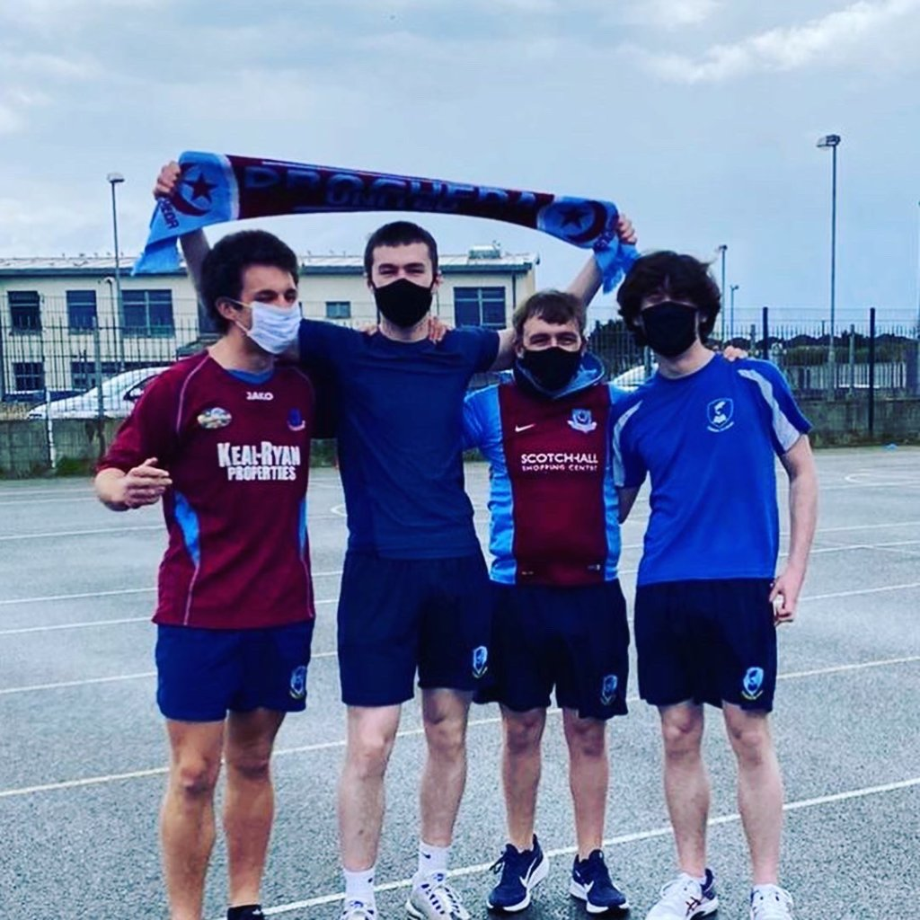 Drogheda United in the Sixth Year League