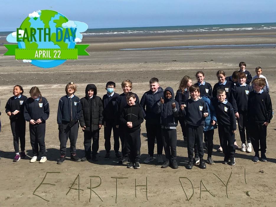 SSN Earth day beach