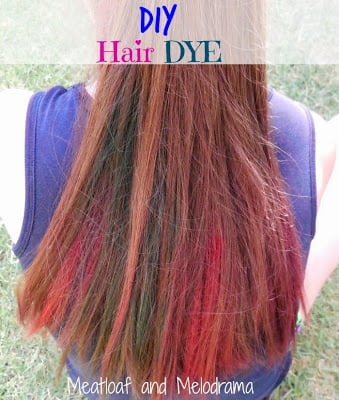 How To Dye Your Hair With Kool Aid Meatloaf And Melodrama