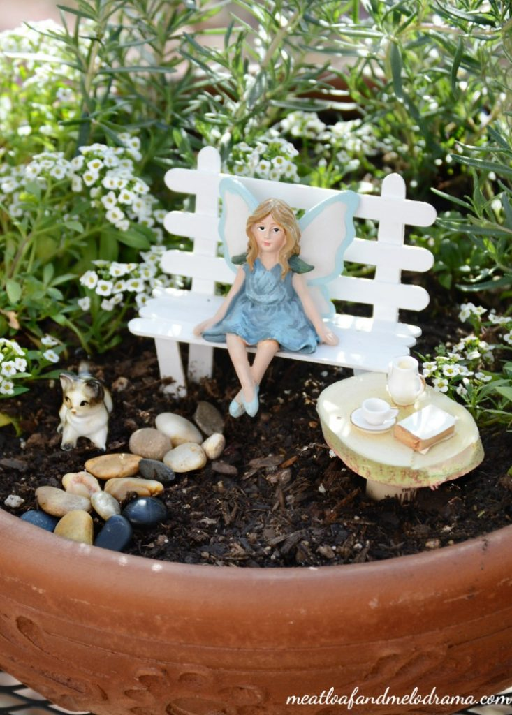 Easy Diy Fairy Garden Meatloaf And Melodrama