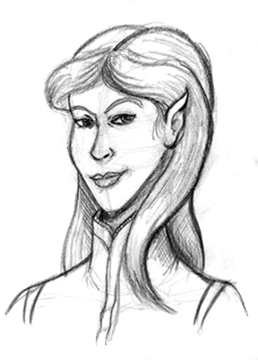 Jaine, Half-elf Bard extraordinaire