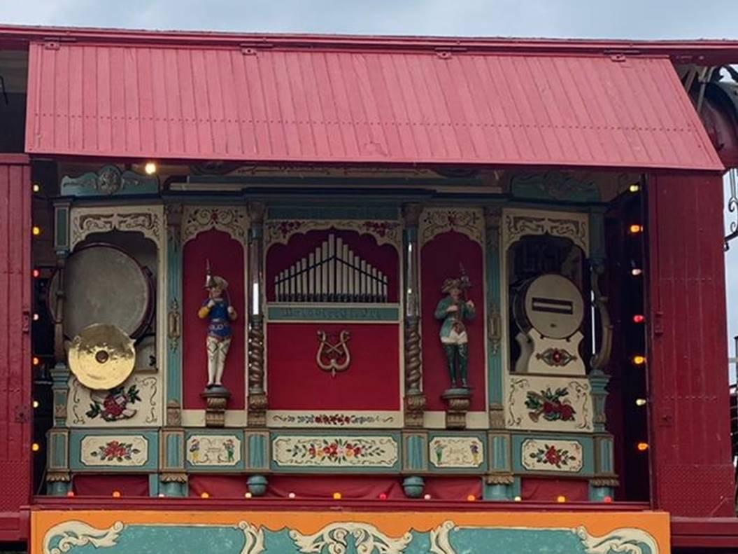 Gebruder Bruder Organ For Sale