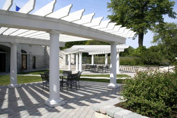 South Shore Club - Clubhouse Pergola