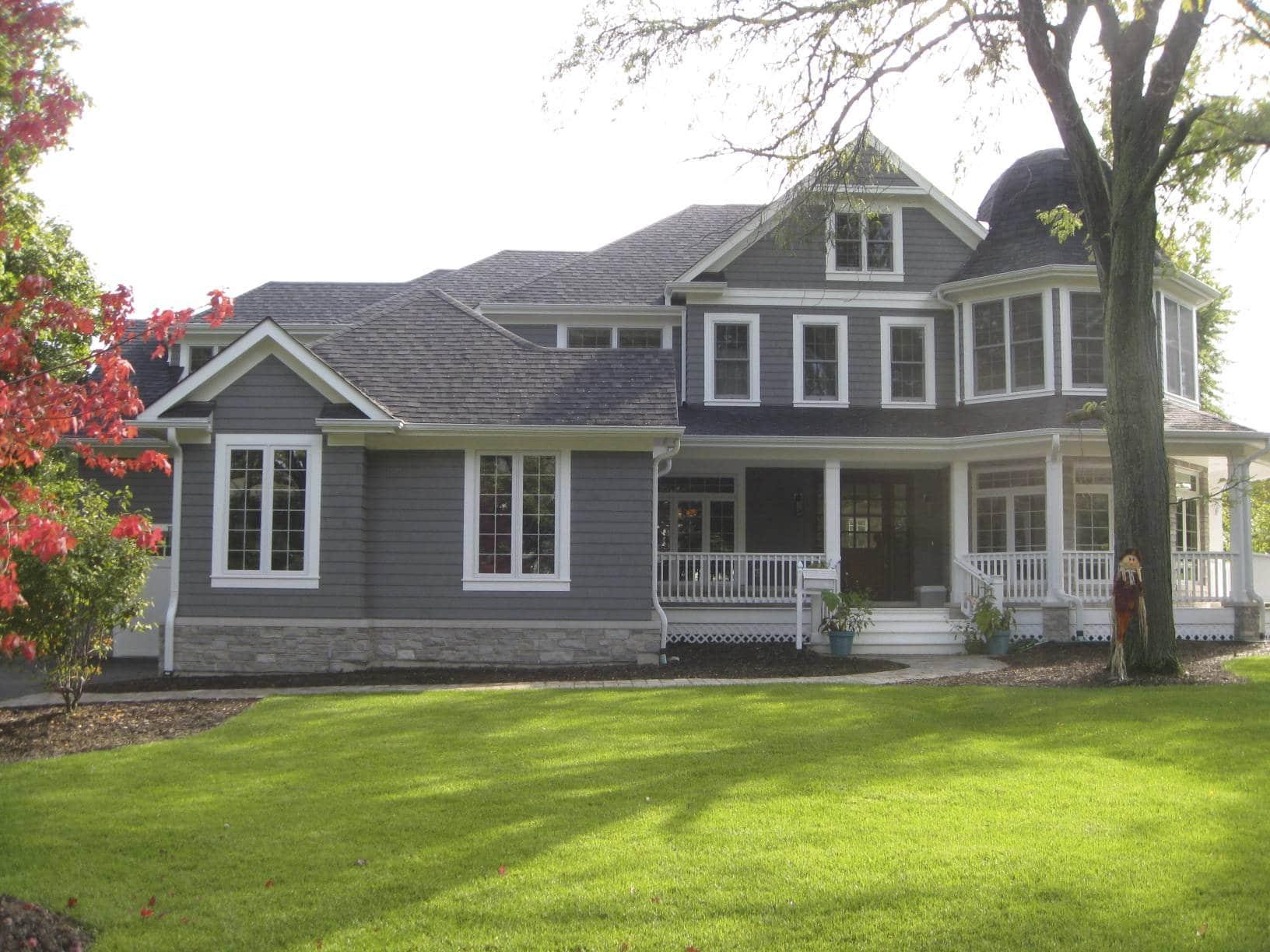 Deerfield coastal style home