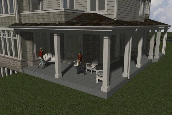 back porch rendering