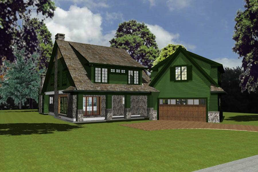 front view rendering