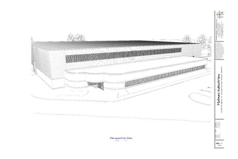architectural perspective rendering