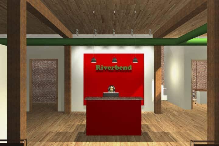 Corporate Loft reception area