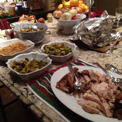 holiday meal