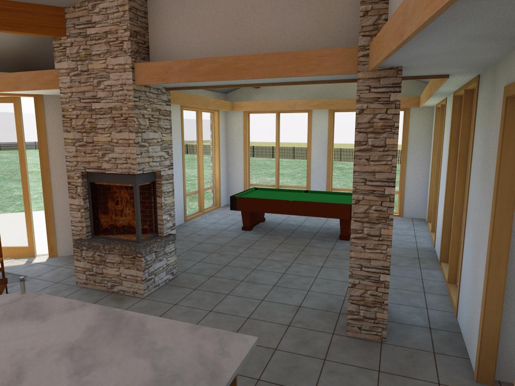 billiards rendering