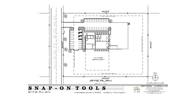 snap-on tools site plan