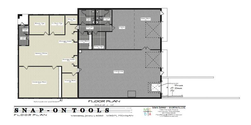 snap-on tools floor plan