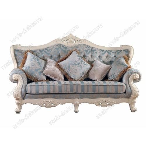 Диван  3-мест с подушками