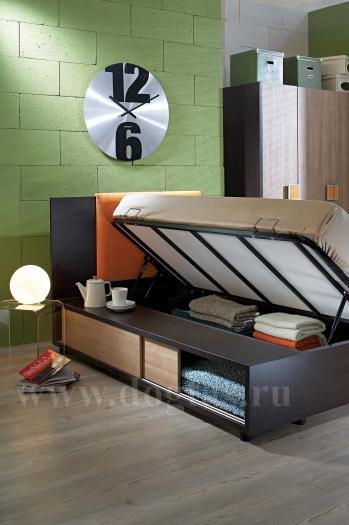 Кровать 90*190 с подъемным механизмом