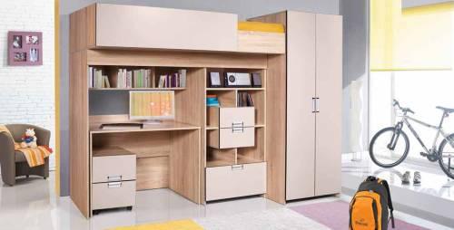 Набор мебели для жилой комнаты Бамбино 1