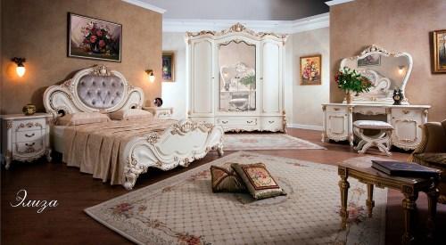 Спальный гарнитур Элиза фабрика РосМебель (СКФМ)