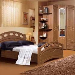 Спальный гарнитур Клеопатра фабрика КМК мебель