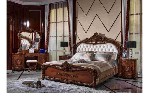 "Спальня ""Оливия"" Орех 4 дверная 607"