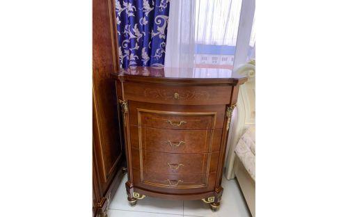 Спальня ФРАНЦИСКО FRANCISKO K03 B, с 6-дверным шкафом, орех