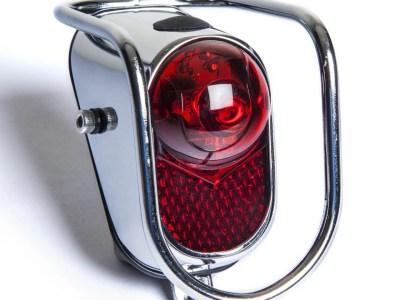 Zadné LED svetlo s ochrannou mriežkou