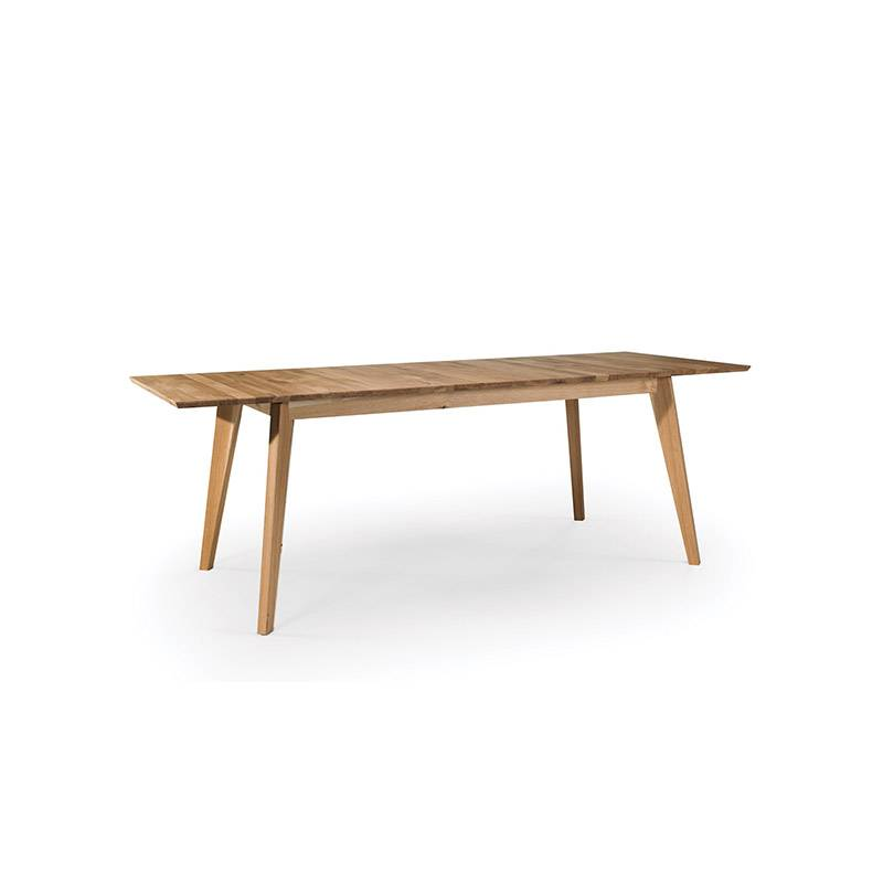 table chene massif extensible stilo