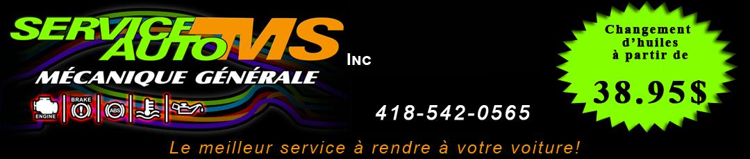 Service Auto MS inc | mecanique Jonquiere Logo