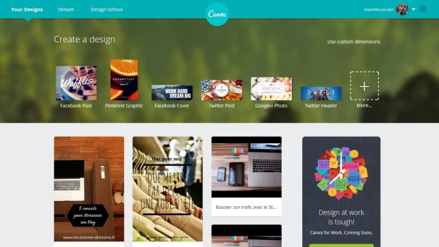 L'application Canva