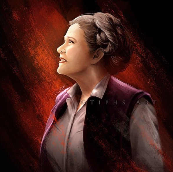 illustration leia Tiphs