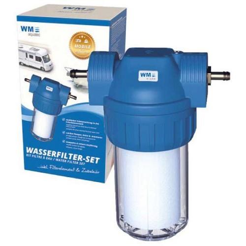 kit de filtration complet a cartouche pour camping cars et caravanes