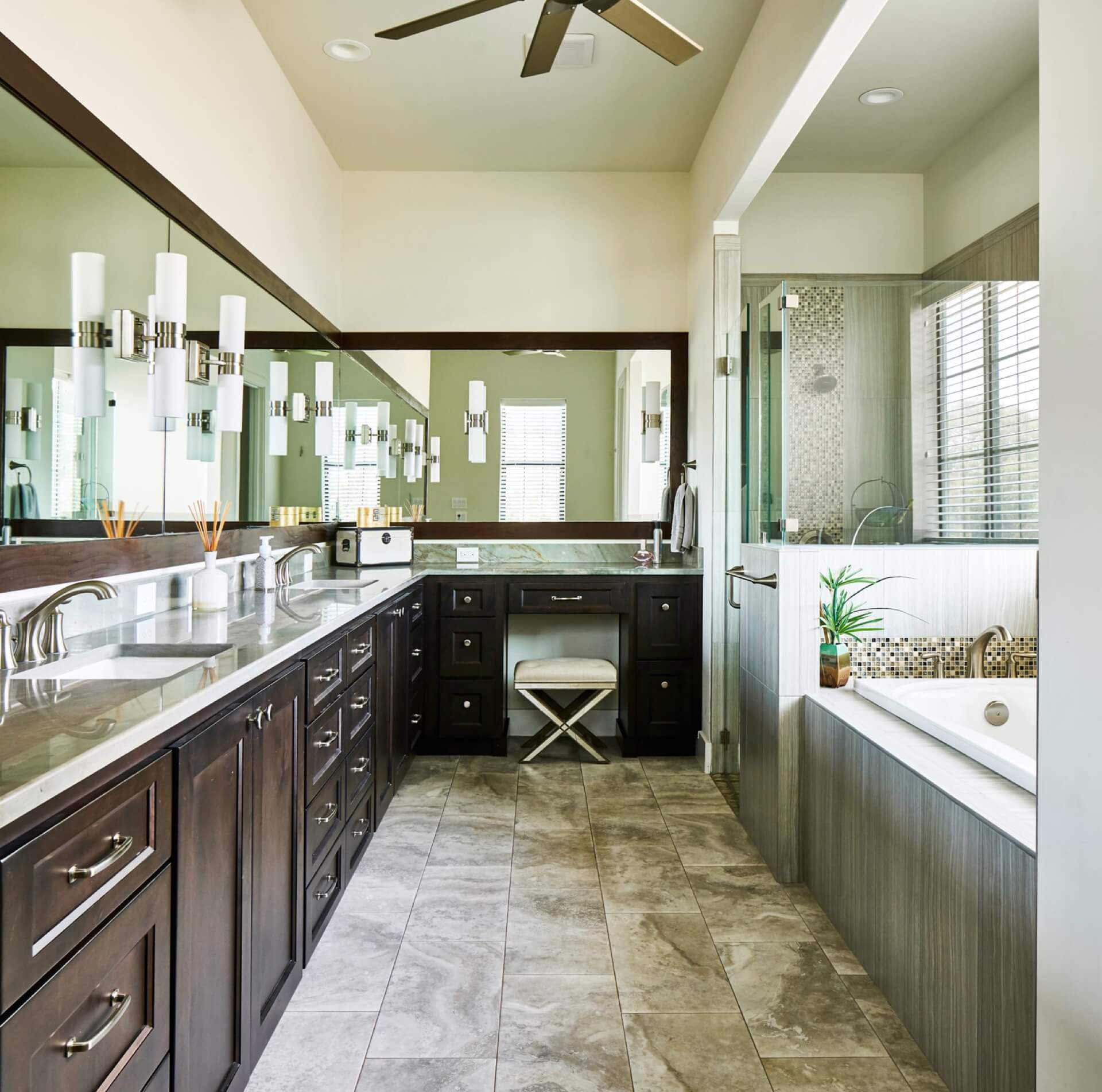 Bathroom Cabinets - Michael Edwards Custom Cabinets