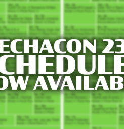 MechaCon 2317 Schedules now available!
