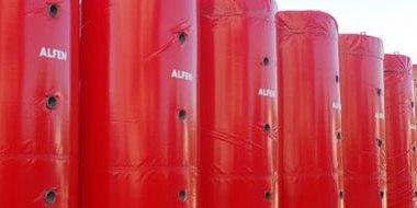 Alfen, Sıcak Su Akümülasyon Tankları