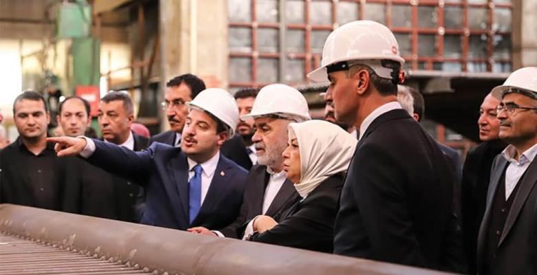 Sanayi ve Teknoloji Bakanı Mustafa VARANK, MİMSAN'ın Malatya'daki Fabrikasını Ziyaret Etti