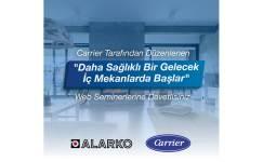 Carrier'dan Web Seminer Serisi: Daha Sağlıklı Bir Gelecek İç Mekanlarda Başlar