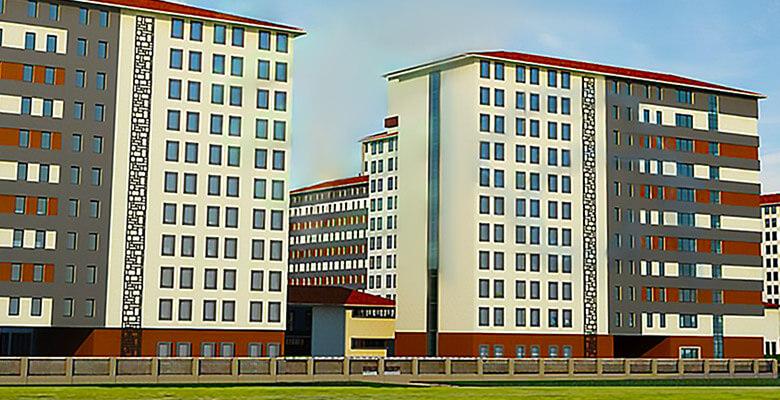 İzmir'in Mega Yurt Kompleksi Projesi Yapımında CIAT Soğutma Grupları ve ALDAĞ Marka Fancoiller Tercih Edildi