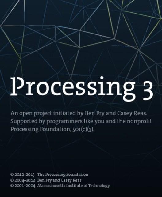 Arduino में programming करने के बाद processing को launch करें जिससे की pir motion sensor से data receive कर सकें