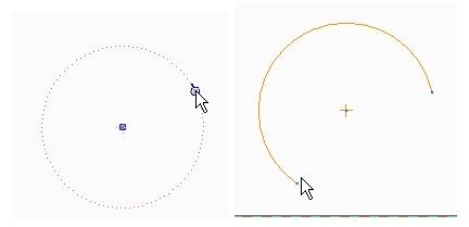 center-ends arcs