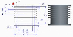 piston cad model draft