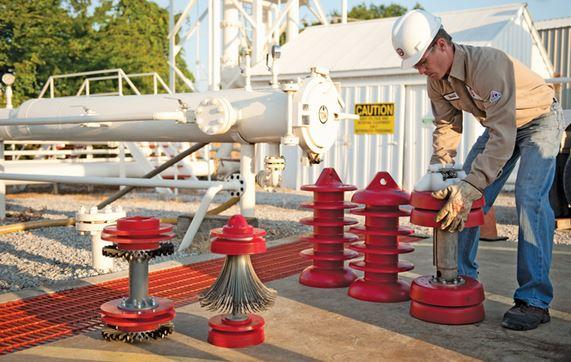 ultrasonic pipeline inspection by pigging