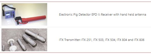 ILI Transmitter and EPD Geophone tools detection