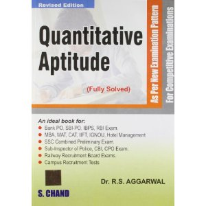 Rs Aggarwal Quantitative Aptitude Test Book Pdf