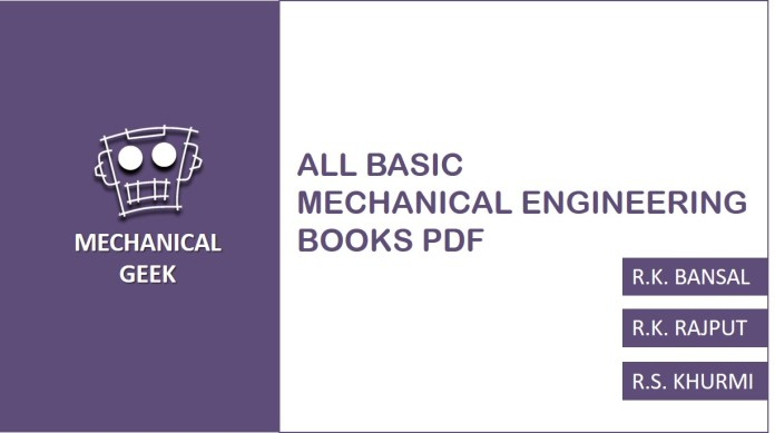 Download Basic Mechanical Engineering Thermodynamics By J ...