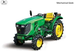 John Deere 3036EN Full specifications, review and price