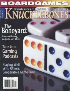 Knucklebones: Final Issue