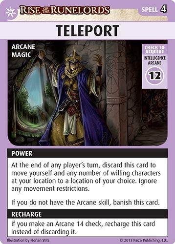 A Deckbuilding Look at Pathfinder Adventure Card Game