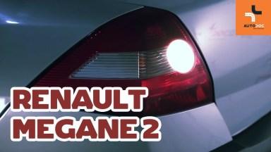 Renault Megane 2 Heckleuchtenglühlampe
